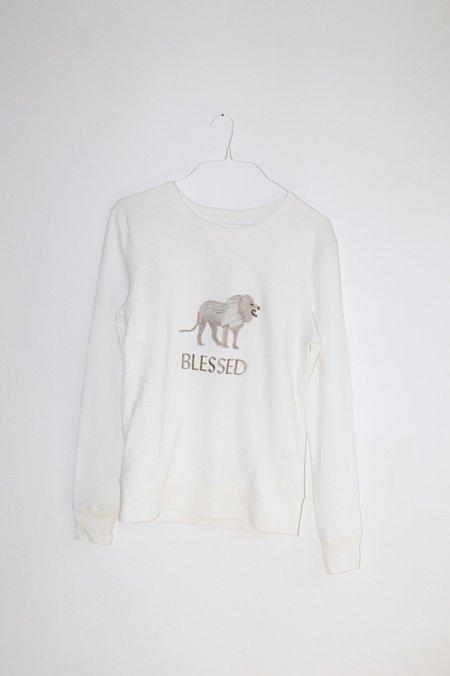 Giu Giu Blessed Sweatshirt - White
