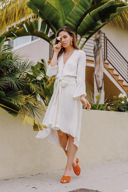 Between Ten Genevieve Skirt - White
