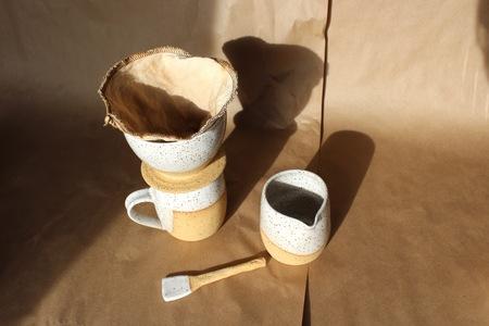 Two Hands Full Woodland Mug Coffee Set