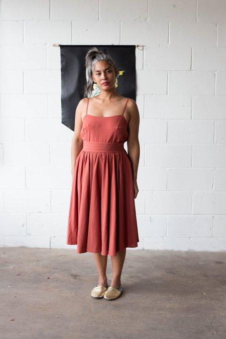 Amanda Moss Promenade Skirt - Cayenne