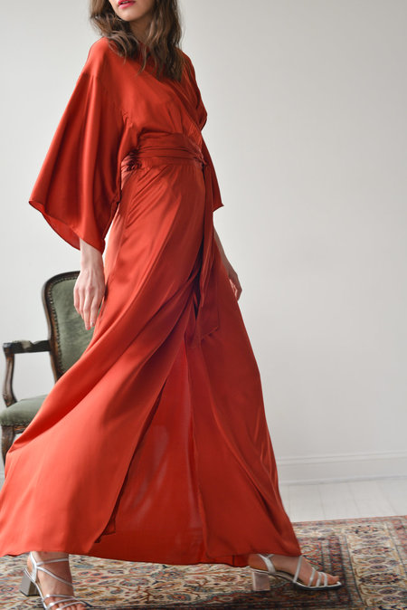 Aurora Vestita Oona Dress - Venetian Red