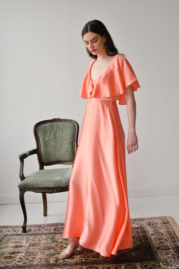 Aurora Vestita Venezia Dress - Coral