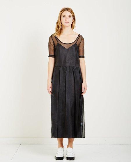 Suzanne Rae ORGANZA DRESS - BLACK