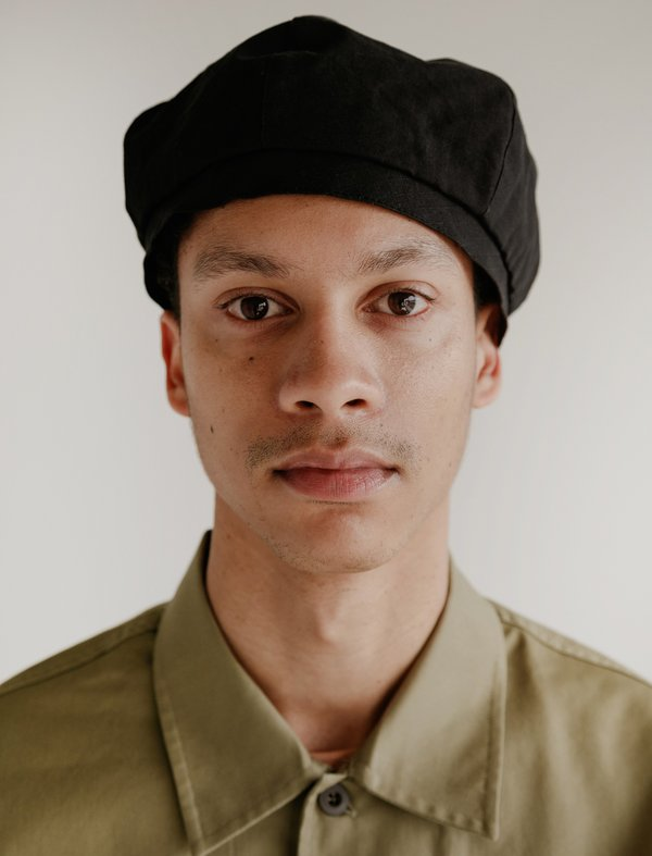 Our Legacy Beret - Black Washed Ripstop