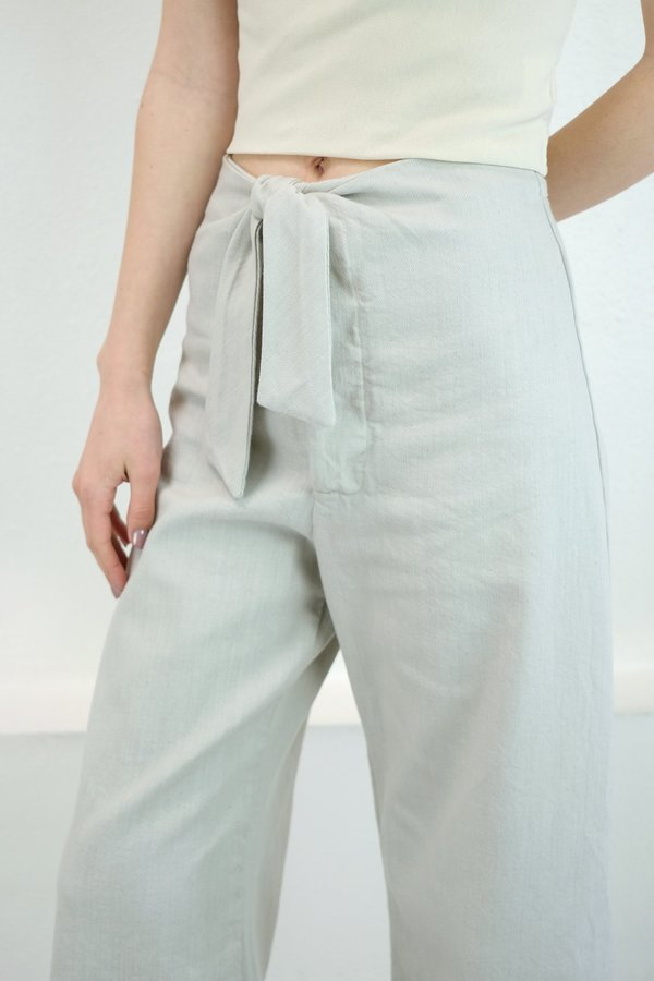 Micaela Greg Knotted Sailor Pant in Tide