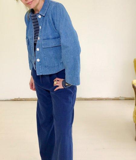 Ilana Kohn Mabel Crop Jacket - Denim