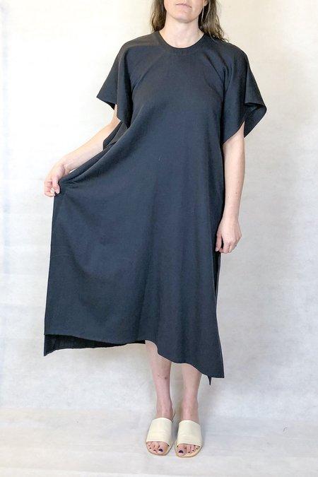 7115 by Szeki swing midi dress - Navy