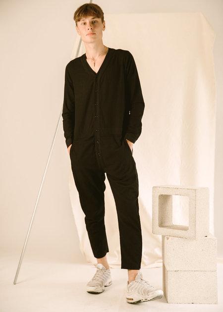 UNISEX Seeker Onesie Jumpsuit - Black