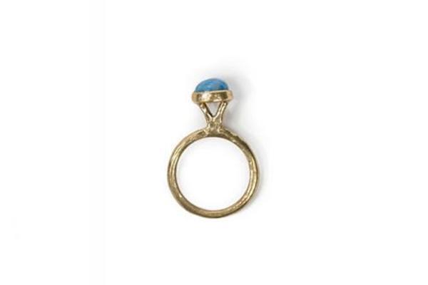 Luiny Lapis Lazuli Small Dot Ring
