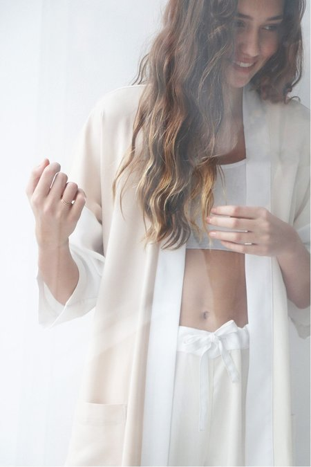 Soft Focus Robe - Cream