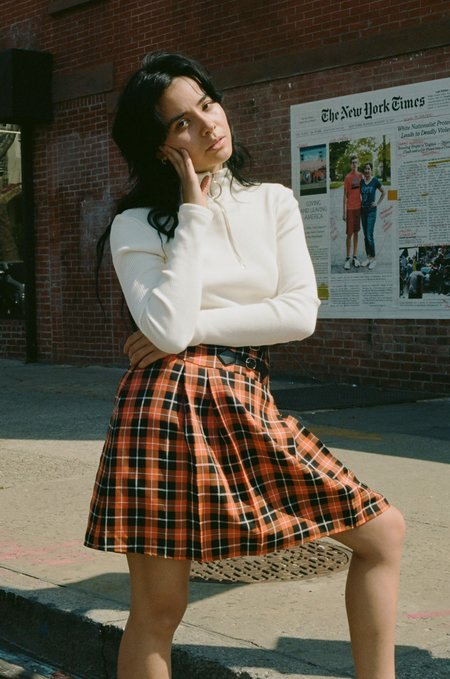 Sincerely, Tommy Vintage Matthew Plaid Skirt