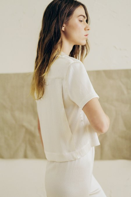 The Great Eros Odessa Camp Shirt in Opal