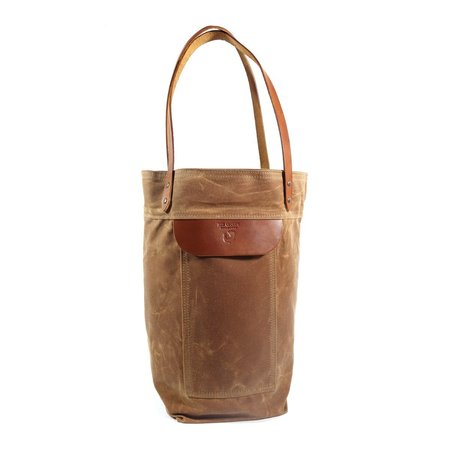 Red CLouds Collective Over The Shoulder Tote Bag - Brush Brown