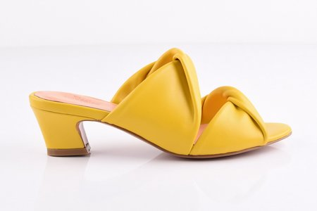 Samantha Pleet Tabernacle Sandal - Lemon