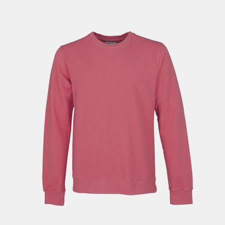 UNISEX Colorful Standard Classic Organic Crew Sweatshirt - Raspberry Pink