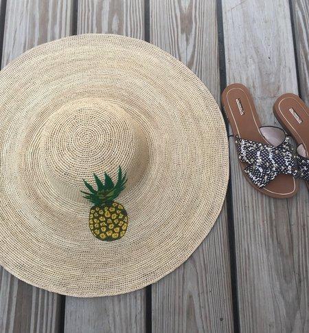 G.Viteri hat - Pineapple Punch