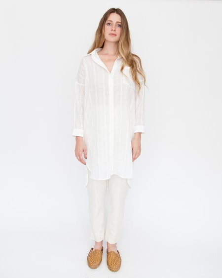 Esby SARA BUTTON DOWN - WHITE
