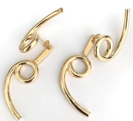 Muskoka Nord Cancer Earrings - Gold Plated