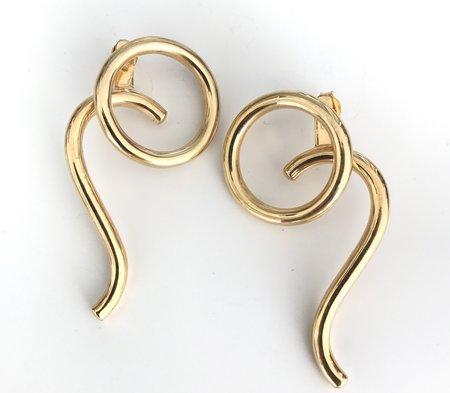 Muskoka Nord Leo Earrings - Gold Plated