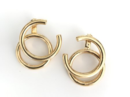 Muskoka Nord Taurus Earrings - Gold Plated