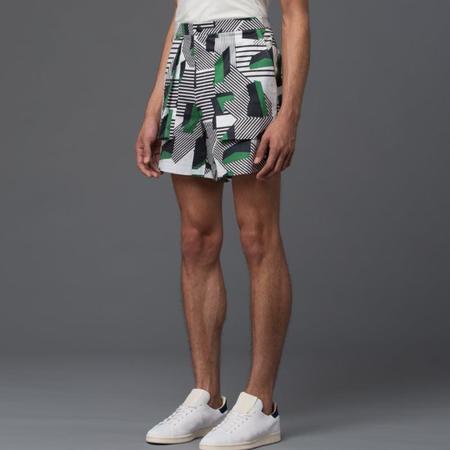 Carlos Campos Deco Print Cargo Shorts