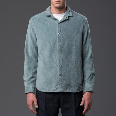 ADAM MAR Montauk Oxford Shirt - Stone Blue