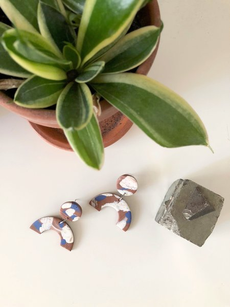 Elise Ballegeer Nina Earrings - Summer Azure