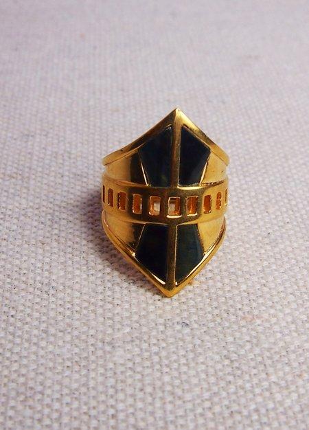 A Peace Treaty Onona Ring - 24k gold plated/brass