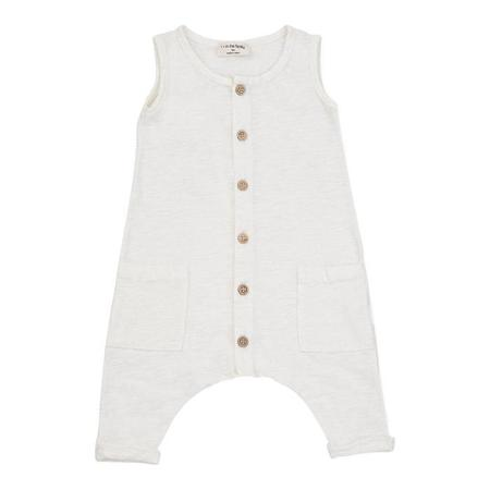 Kids 1+ In the Family Wassily Jumpsuit - Off White