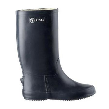 KIDS Aigle Baby Manege Fur Boot - Black