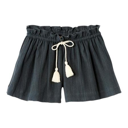 Kids April Showers Berny Shorts - Charcoal