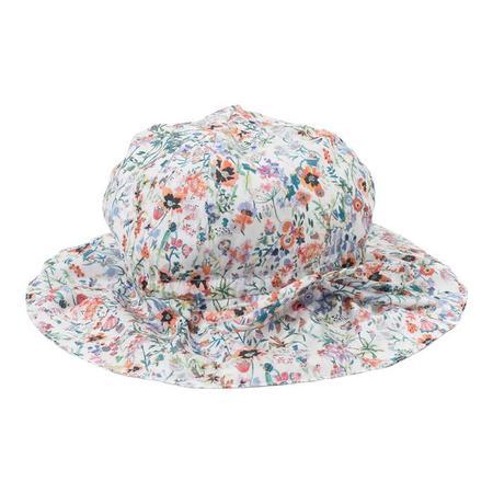KIDS Bonton Baby Floral Printed Hat - Multi