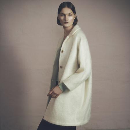 Samuji Mohini Coat - Ecru