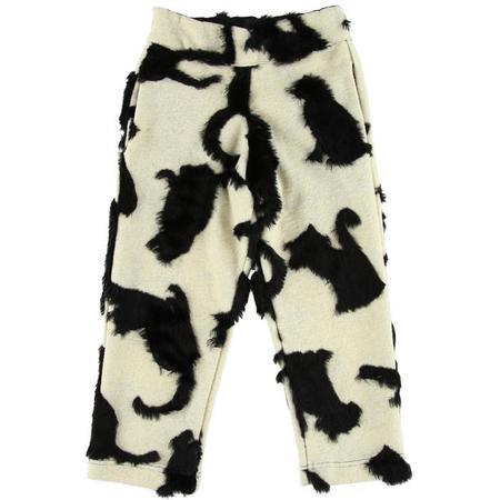 Kids Caroline Bosmans Faux Fur Pants - Cat