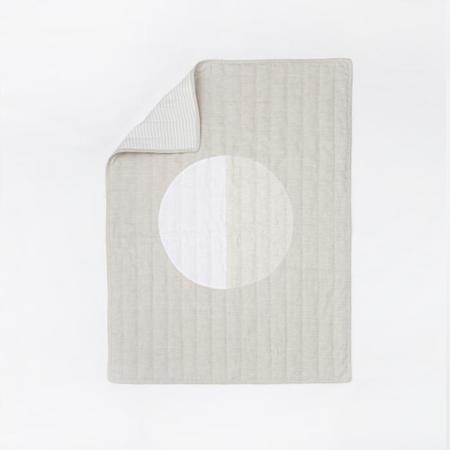 Caroline Z. Hurley White Moon Quilt