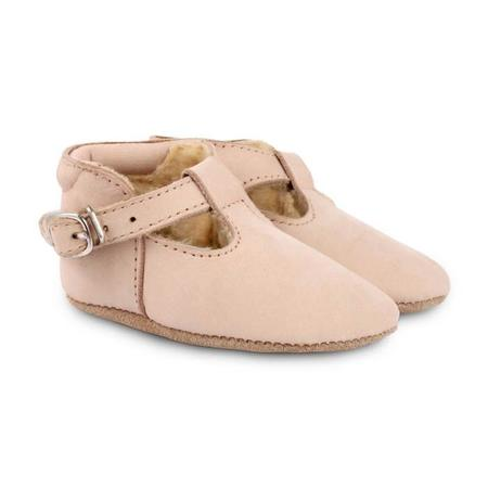 Kids Donsje Elia Lining Nubuk Shoes - Powder