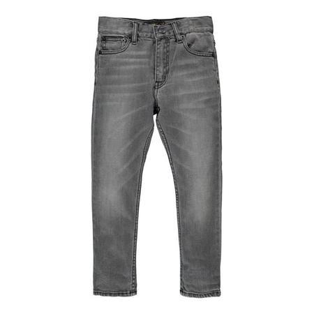 Kids Finger In The Nose Ewan 5 Pocket Comfort Fit Jeans - Grey Denim