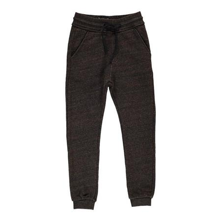 Unisex Kids Finger In The Nose Sprint Knitted Jogging Pants - Heather Rust