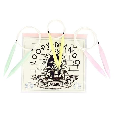 Loopy Mango Three Musketeers Interchangeable Needle Set