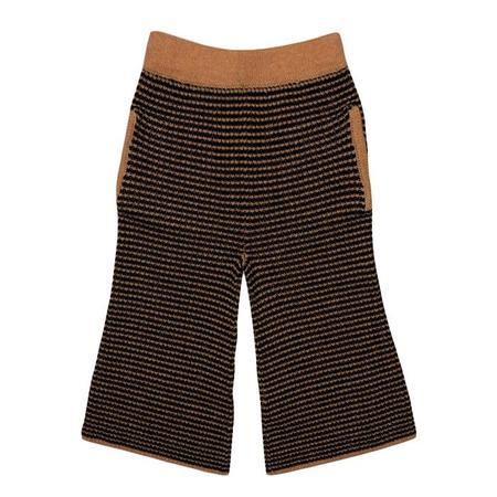 KIDS Morley Giovana Girls Trouser - Stripe Golden Brown