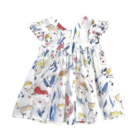 KIDS Morley Honey Dress - Flowerface