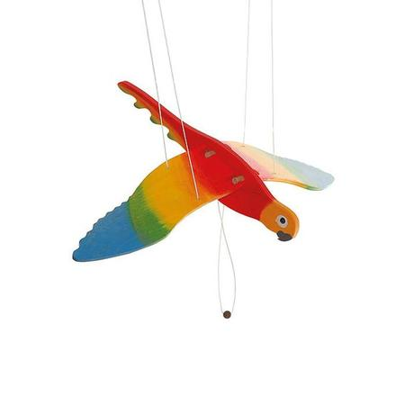 KIDS Ostheimer Wooden Mobile Parrot
