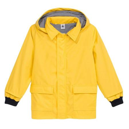 KIDS Petit Bateau Cire Raincoat - Jaune Yellow