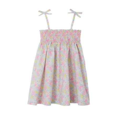 KIDS Petit Bateau Dress - Fuchia /Floral Print