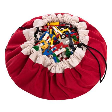 KIDS Play & Go Toy Storage Bag - Red