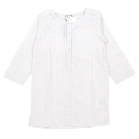 KIDS Sunchild Antigua Tunic Dress - Pure White