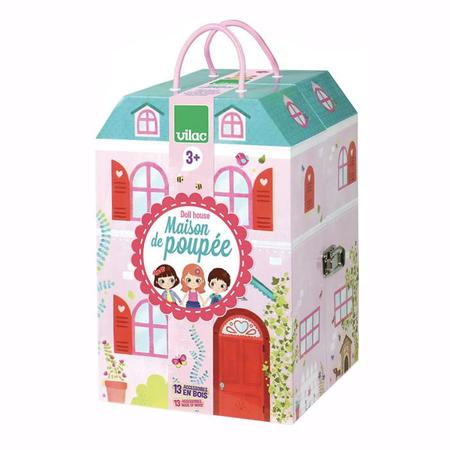 Kids Vilac Suitcase Doll House