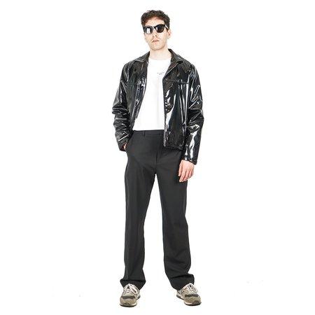 Drôle de Monsieur Coating Shiny Jacket - Black