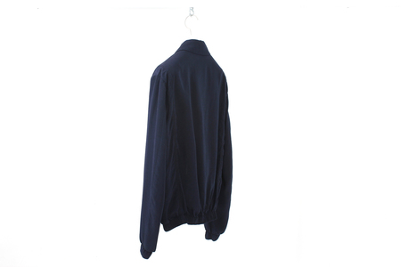 Document Silky Cotton Blouson - Indigo Dyed