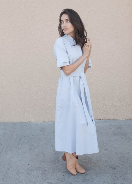 You Must Create Joan Dress - Blue/White
